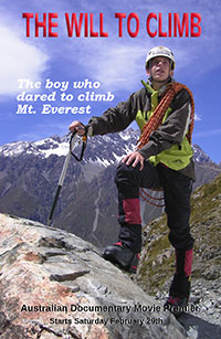 The Will To Climb movie poster